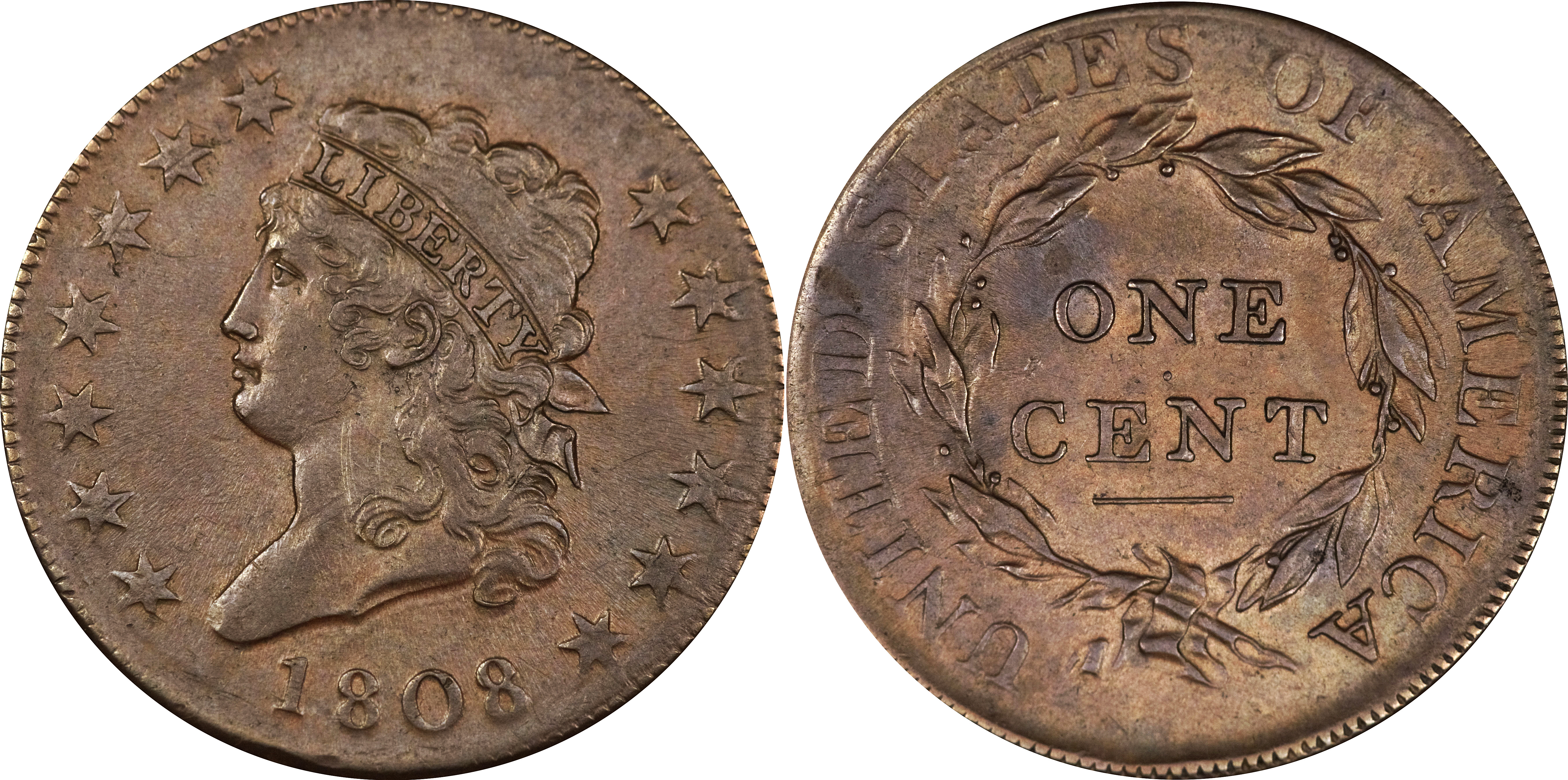 How to grade Classic Head Large Cent AU55