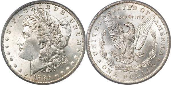 Morgan Dollar Value MS63