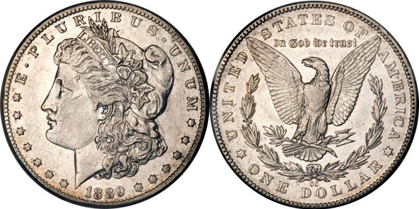Morgan Dollar Value EF45