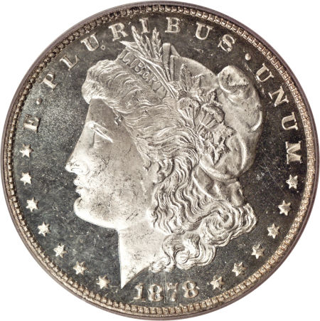 1878 7-8 TF Morgan Dollar