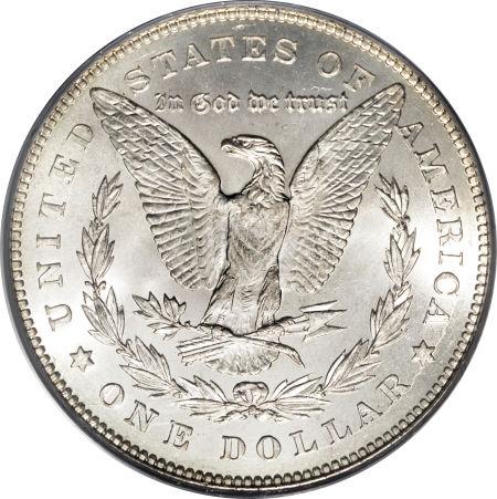 1878 7TF Morgan Dollar Reverse