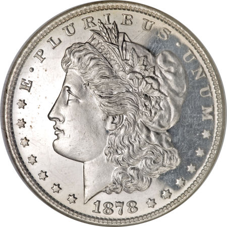 1878 8TF Morgan Dollar