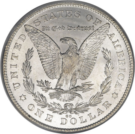 1878-CC Morgan Dollar Reverse