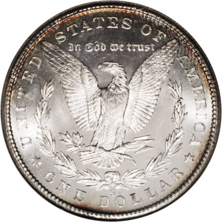 1880-S Morgan Dollar Reverse