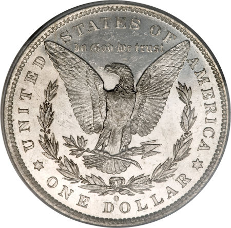 1881-O Morgan Dollar Reverse