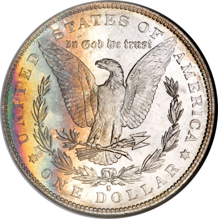 1882-S Morgan Dollar Reverse