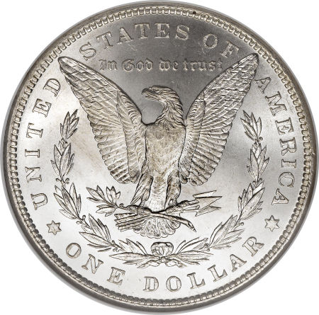1882 Morgan Dollar Reverse
