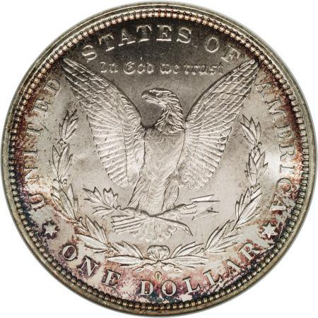 1883-O Morgan Dollar Reverse