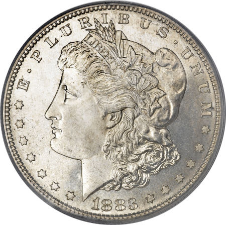 1883 S Morgan Silver Dollar Coin Value