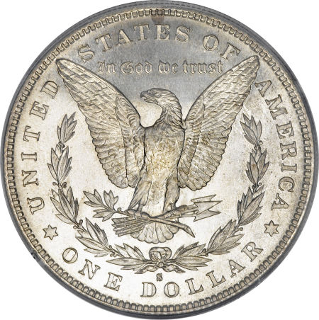 1883-S Morgan Dollar Reverse