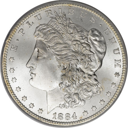 1884-CC Morgan Dollar