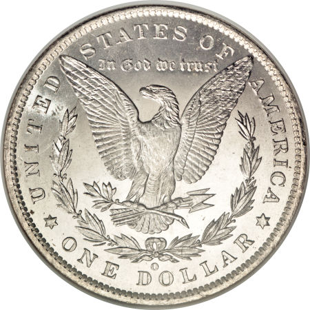 1885-O Morgan Dollar Reverse