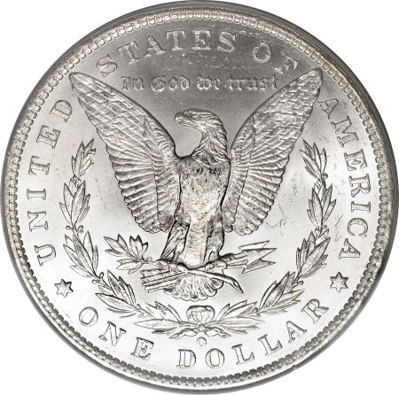 1886-O Morgan Dollar Reverse
