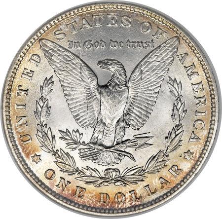 1886 Morgan Dollar Reverse