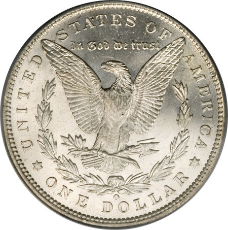 1887-O Morgan Dollar Reverse