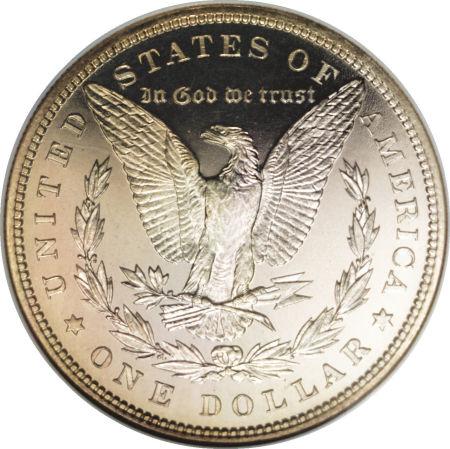 1887 Morgan Dollar Reverse