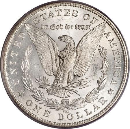 1889-CC Morgan Dollar Reverse
