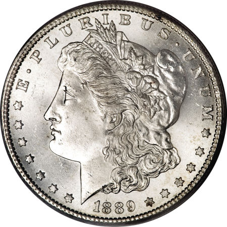 1889-S Morgan Dollar MS66