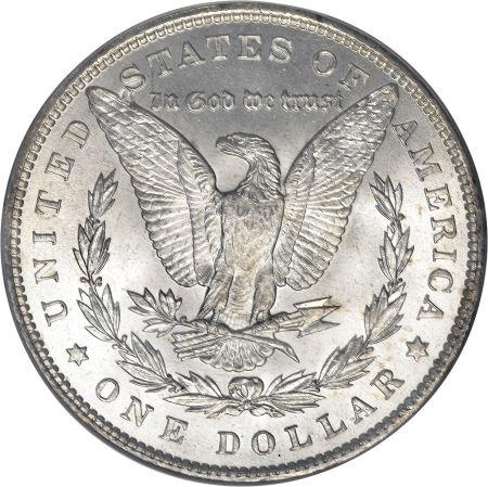 1889 Morgan Dollar Reverse