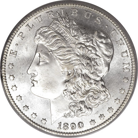 1890-S Morgan Dollar