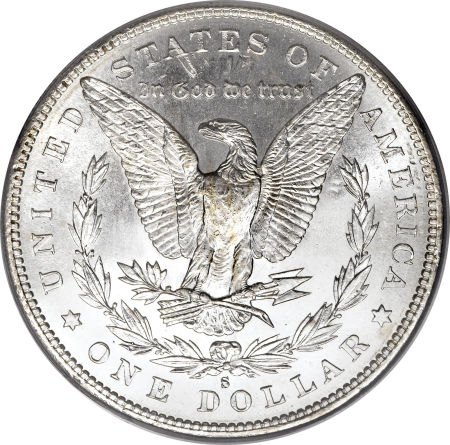 1890-S Morgan Dollar Reverse
