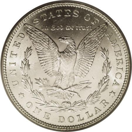 1890 Morgan Dollar Reverse