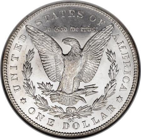 1891-CC Morgan Dollar Reverse