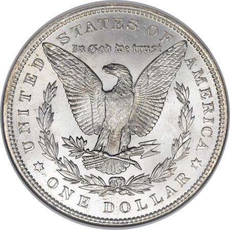 1891 Morgan Dollar Reverse