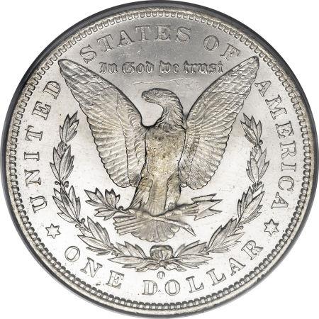 1892-O Morgan Dollar Reverse