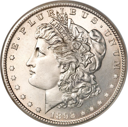 1892-S Morgan Dollar