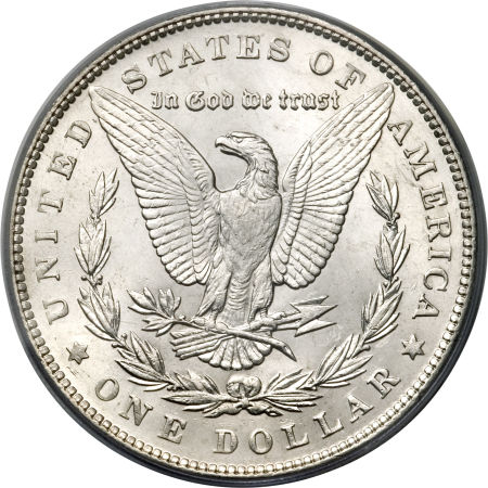 1892 Morgan Dollar Reverse