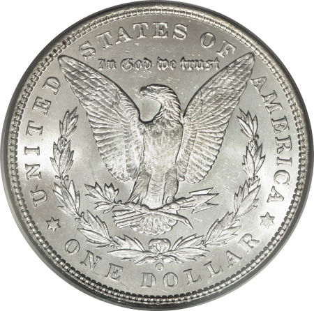 1893-O Morgan Dollar Reverse