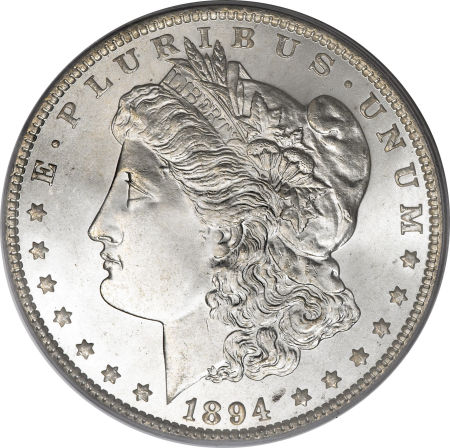 1894 Morgan Dollar one of the most rare Morgan Silver Dollars
