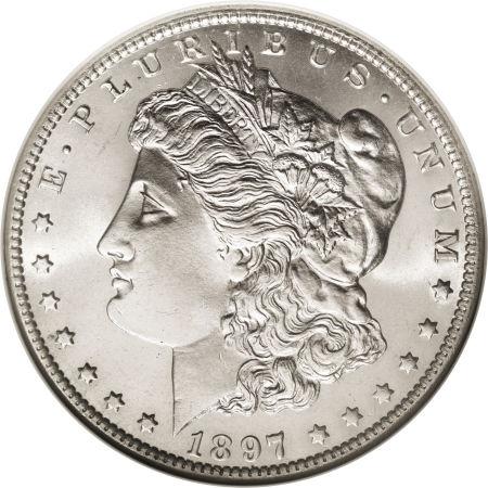 1897-O Morgan Dollar obverse
