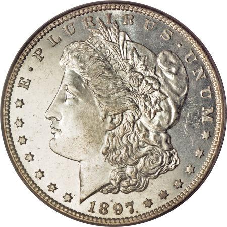 1897 Morgan Dollar Obverse