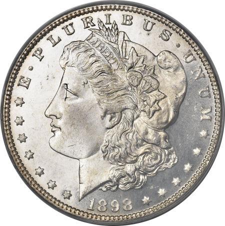 1898 Morgan Dollar obverse