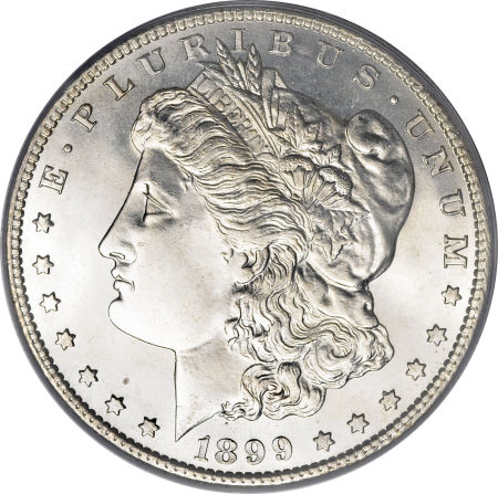 1899-S Morgan Dollar Obverse