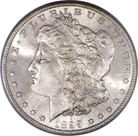 1899 Morgan Dollar lower mintage silver dollar