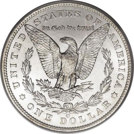 1900-O/CC Morgan Dollar reverse