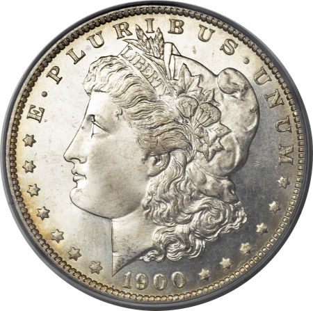 1900-S Morgan Dollar obverse