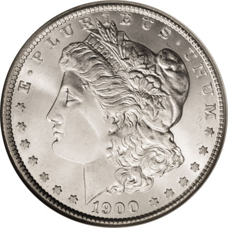 1900 Morgan Dollar obverse