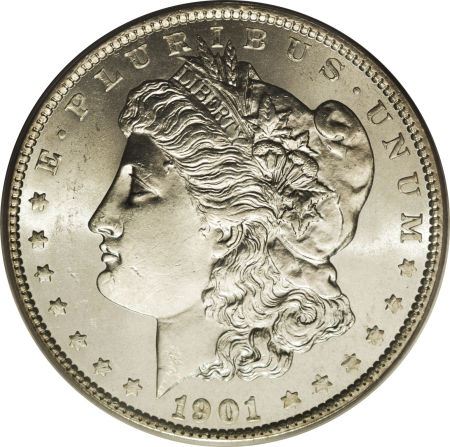 1901 Morgan Dollar