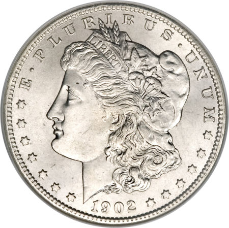 1902-O Morgan Dollar obverse