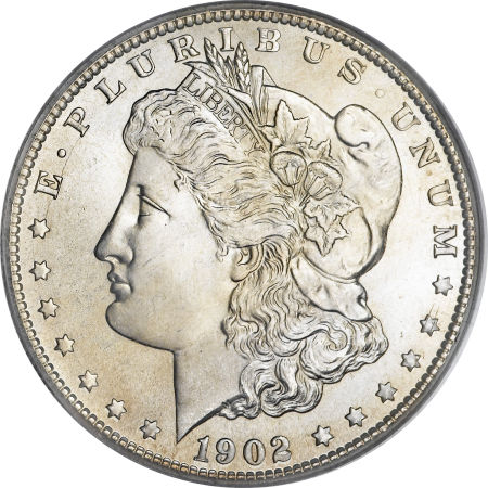 1902-S Morgan Dollar obverse