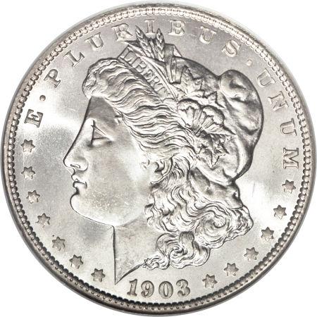 1903-O Morgan Dollar obverse