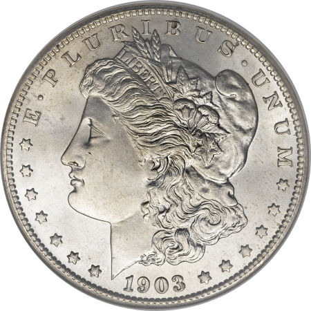 1903-S Morgan Dollar obverse