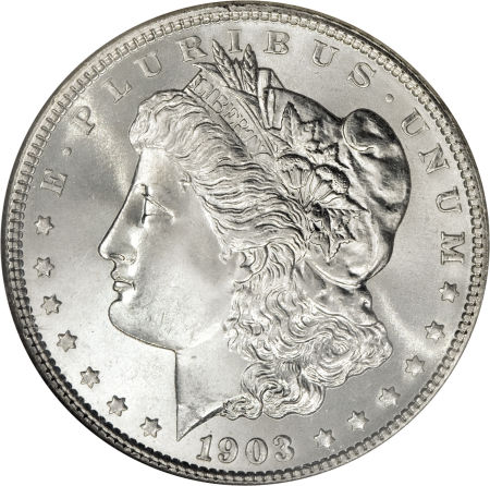 1903 Morgan Dollar obverse
