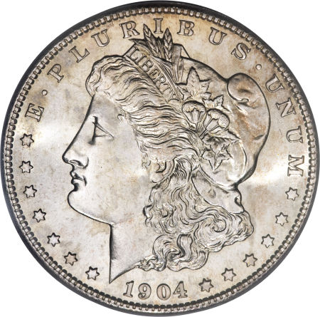 1904-S Morgan Dollar obverse