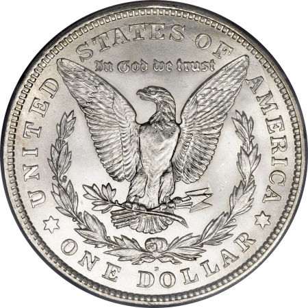 1921-D Morgan Dollar reverse