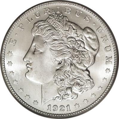1921 S Morgan Silver Dollar Coin Value